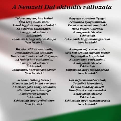 Új Nemzeti Dal 2016 márc.15.