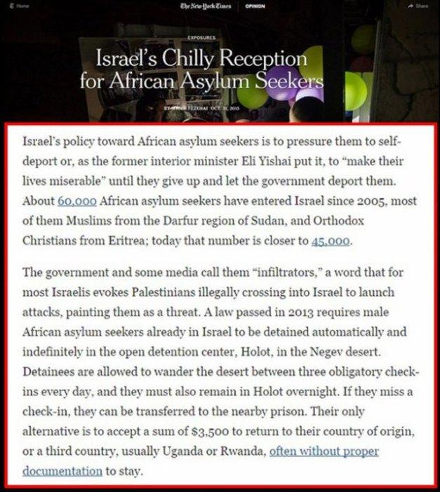 Die New York Times akaratan kivül leleplezi az izraeli képmutatast