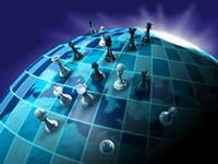 geopolitics-földgömb-sakkfigurakkal