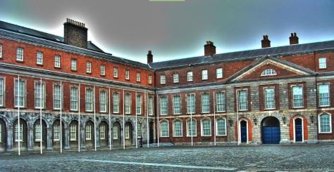 15. A Dublin-i Vár belső, zárt udvara; google-maps-foto