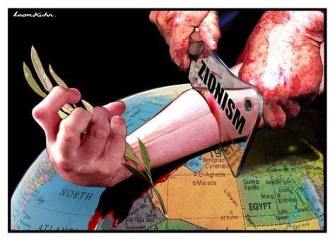 A cionizmus az emberiség alkotó része ellen!