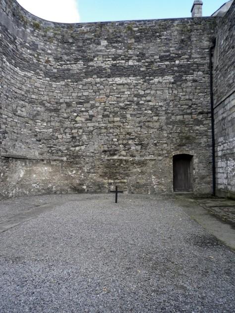 14. Kilmainham börtön kivégző helye
