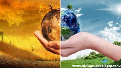 globális felmelegdés lehűlés szén-dioxid éghajlat változás emberi tevékenység környezet szennyezés