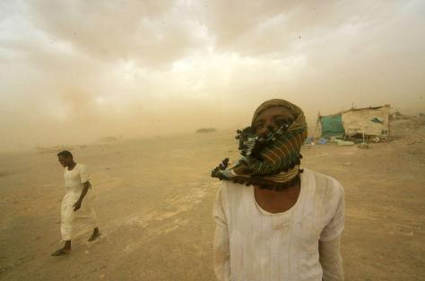 Homokvihar Szudánban
