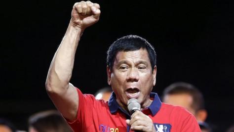 Rodrigo Duterte-Fülöpszigetek