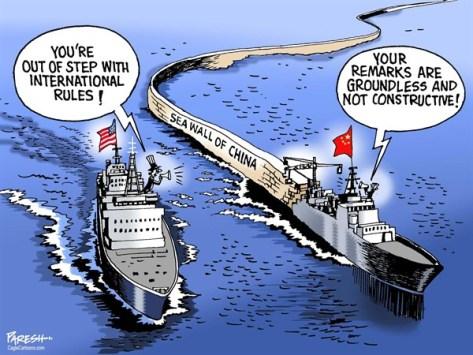 seawall of china