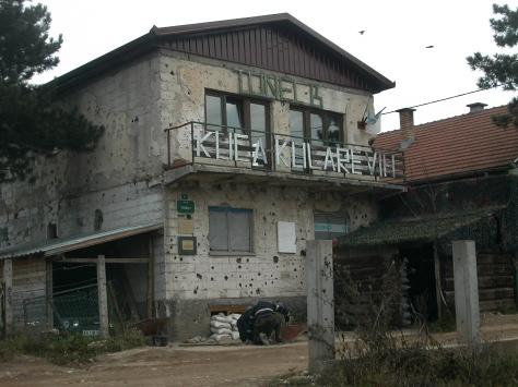 A szarajevói alagút bejárata ma múzeum