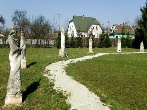 Aknaszlatinai szoborpark, Kárpátalja