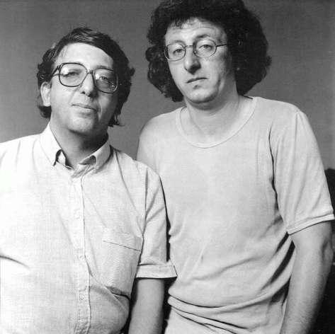 Kornis Mihály és Esterházy Péter, 1985