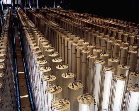 Urándúsító gáz centrifúgák
