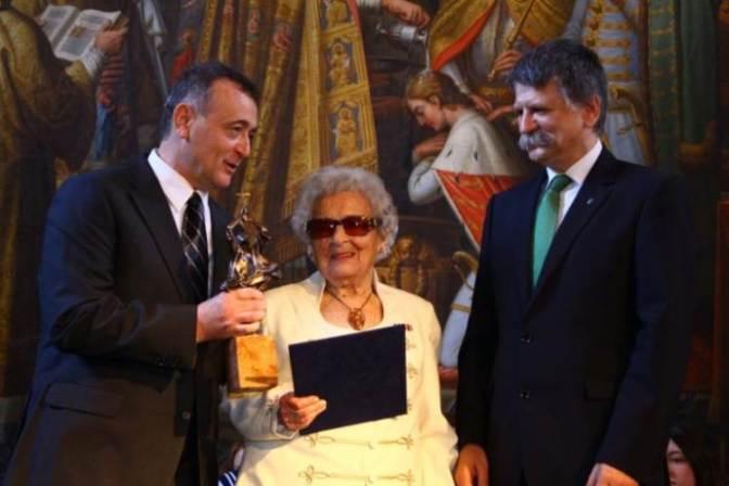 A Szent István-díj átadóján