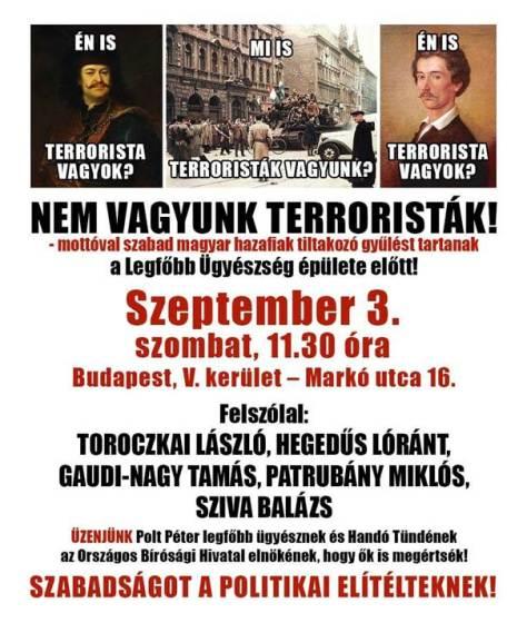 Budaházy_tüntetés