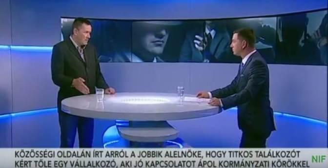 Megzsarolták a Jobbik alelnökét: Vagy kiszáll és betámadja Vonát, vagy tönkreteszik