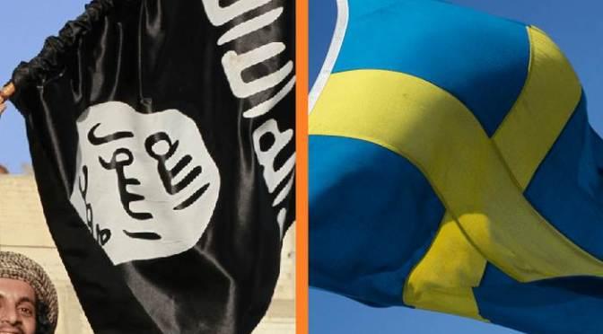 Svédország legalizálja az ISIS harci zászlaját