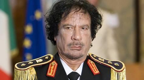 Muammar Gaddafi © Max Rossi / Reuters