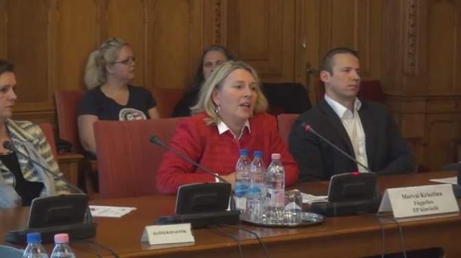 Budaházy-ügy: az amnesztiát támogatja a Fidesz és a Jobbik – Morvai Krisztina tájékoztatása