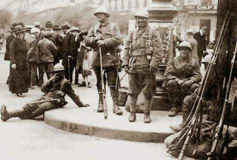Román megszállók Budapesten (1919)
