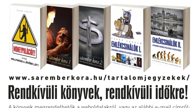 Mert a könyvet nem lehet kikapcsolni! – Magyarország legfontosabb trilógiája (megrendeléseddel sokat segítesz!)