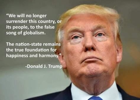 """""""Nem fogom átadni az Egyesült Államokat a globalizmus hamis hangjának"""""""