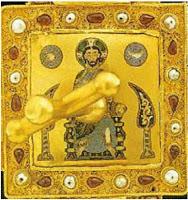 Pantokrátor a Szent Koronán