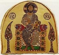 Krisztus a Szent Koronán