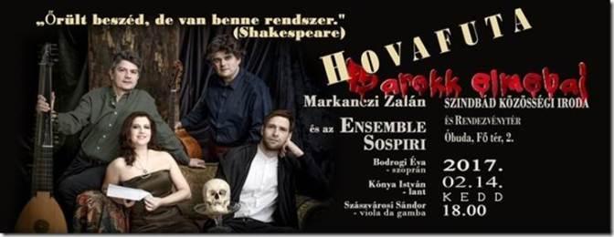 Zenés-irodalmi-színházi est: Hovafuta – barokk elmebaj