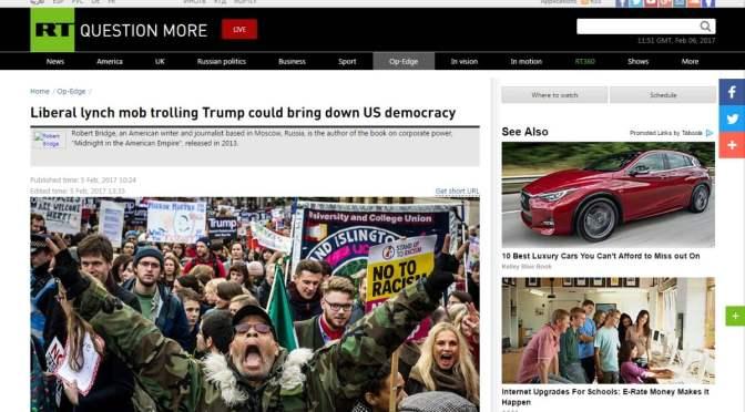 Zombik ideje – A liberális, lincselésre kész csőcselék Trumpot gyalázza