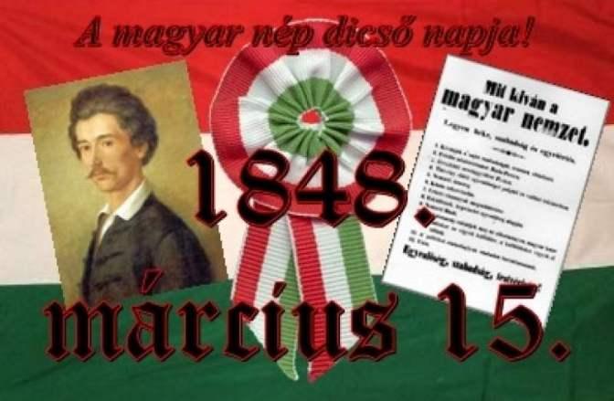 Március 15: Méltóságot és szabadságot minden magyarnak!