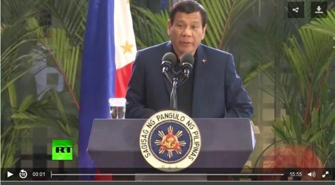 Duterte és Clint Eastwood az ISIS-ről– sajtótájékoztató (VIDEÓVAL)
