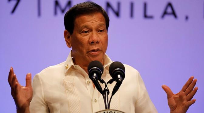 Duterte szerint Kim Jong-un véget akar vetni a világnak