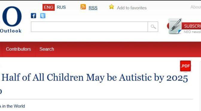 Az MIT állítása szerint 2025-re a gyermekek fele autista lehet a Monsanto miatt