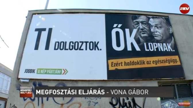 Vona: Kövér László már nyíltan a Fidesz választási vereségéről lamentál