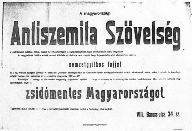 Elég az örökös vádolásból! – Magyarország és az antiszemitizmus