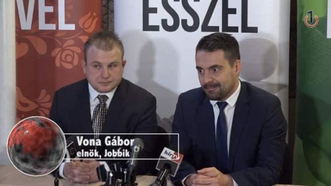 """Vona: """"Vagy Orbán Viktor kerül börtönbe vagy én"""""""