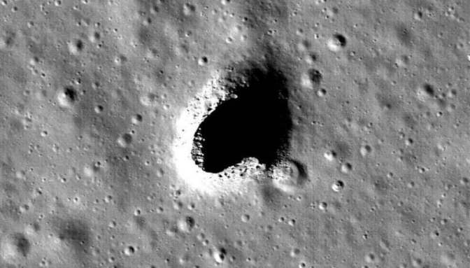 Japán tudósok óriási barlangot találtak a Holdon