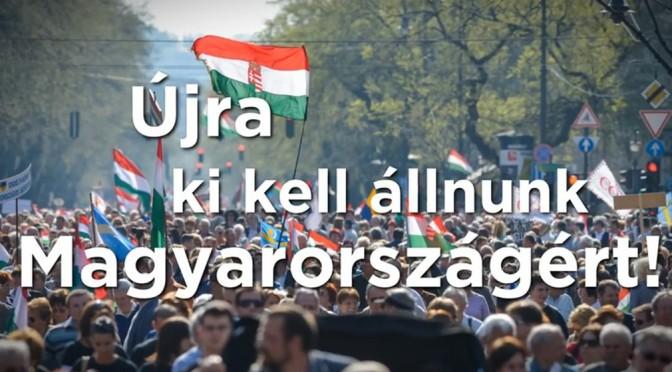 Nemzeti ünnepünk és a Békemenet!