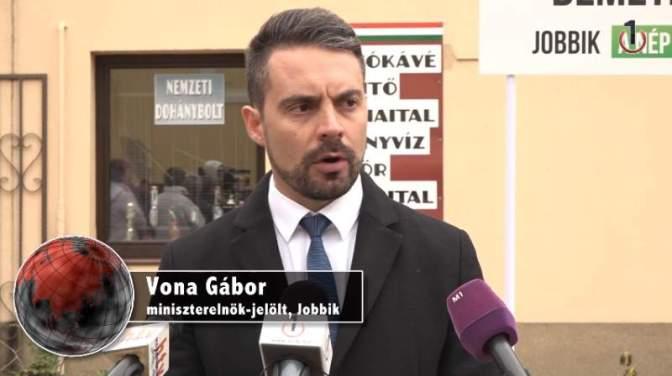 """Vona: """"Nem akarjuk, hogy elmeneküljenek gyermekeink Magyarországról"""""""