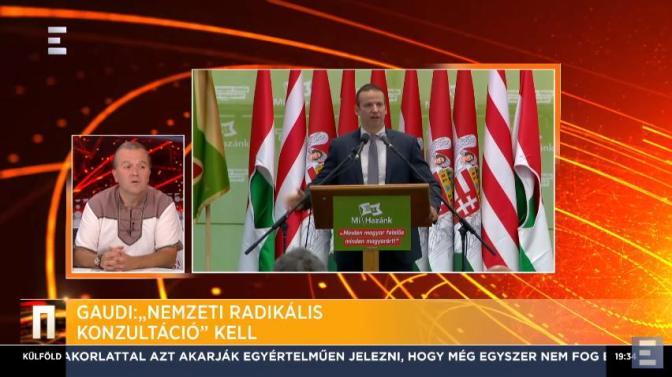 Gaudi az ECHO TV-ben a Mi Hazánkról, a Jobbik által szétzilált nemzeti radikális erők egyesítéséről és további fontos témákról…