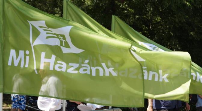 Párttá válik a Mi Hazánk Mozgalom – Zászlóbontás