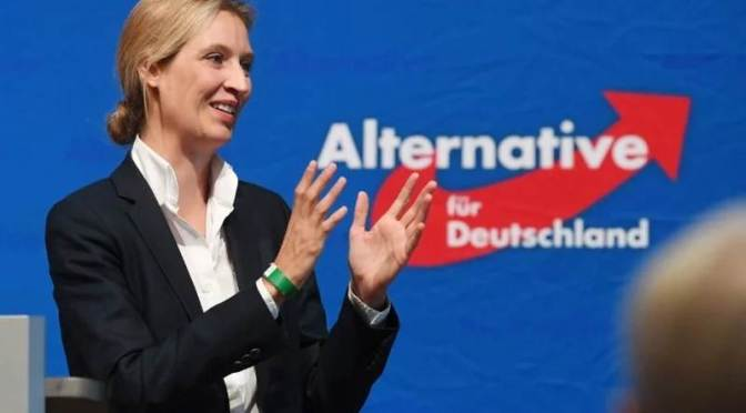 Német felmérés: az AfD utolérte Merkel vöröseit 🇩🇪