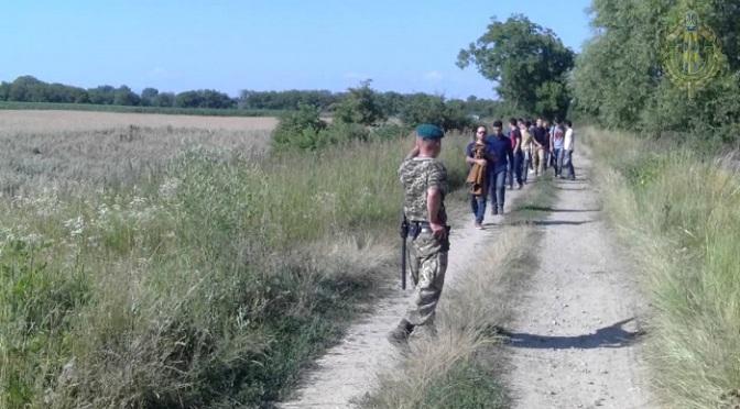Lövésekkel állították meg a migránsokat 🇺🇦 – 🇭🇺