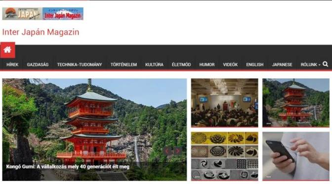Pályázatot hirdet az Inter Japán Magazin