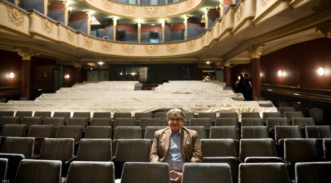 Dörner György és az Újszínház bolsevik zaklatása