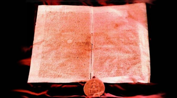 Az Aranybulla főszövege jelenünk látletele!