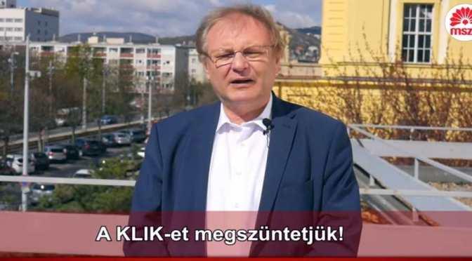 Hiller István kimondta: A KLIK-et megszüntetjük! – de Pisti, az már nincs négy éve!
