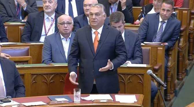 Óriási sallert kapott az ellenség Orbán Viktortól